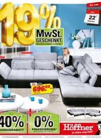 Höffner Marken stark reduziert Mai 2012 KW19