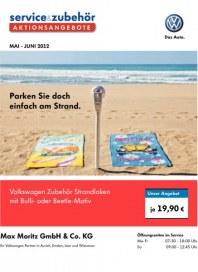 Volkswagen Aktionsangebote für den Sommer 2012 Mai 2012 KW18