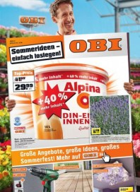 OBI Sommerangebote Juni 2012 KW22