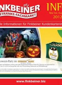 Finkbeiner Halloween-Party Mai 2012 KW22