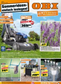 OBI Die Nr.1 für Ihren Garten Juni 2012 KW24