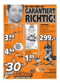 Globus Baumarkt Garantiert richtig Juni 2012 KW26 1