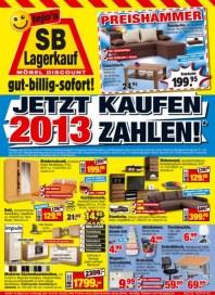 tejos SB-Lagerkauf Jetzt kaufen Juni 2012 KW26