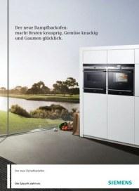 Siemens-Electrogeräte GmbH Dampfbackofen 2012 Januar 2012 KW52