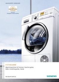 Siemens-Electrogeräte GmbH EXTRAKLASSE-Geräteprogramm Juni 2012 KW22
