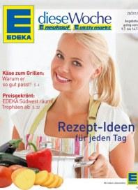 Edeka Rezept-Ideen für jeden Tag Juli 2012 KW28