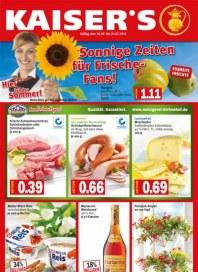 Kaiser's Sonnige Zeiten für Frische-Fans Juli 2012 KW29