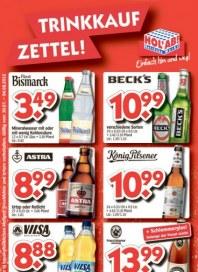 Hol ab Getränkemarkt Trinkkaufzettel Juli 2012 KW31