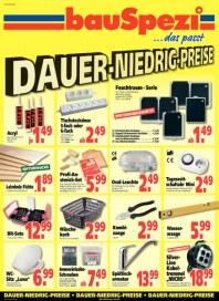 BauSpezi Dauer-Niedrig-Preise Juli 2012 KW30