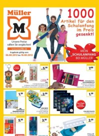 Müller Artikel für den Schulanfang August 2012 KW32