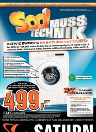 Saturn Servicewoche August 2012 KW32