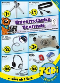 Tedi Bärenstarke Technik August 2012 KW32