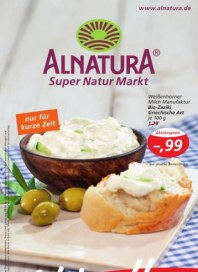 Alnatura Hauptflyer August 2012 KW32