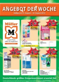 Müller Angebote der Woche August 2012 KW33