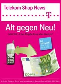 Telekom Shop Alt gegen Neu August 2012 KW33