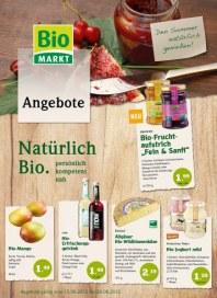 Biomarkt Den Sommer natürlich genießen August 2012 KW33