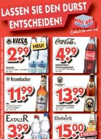 Hol ab Getränkemarkt Lassen Sie den Durst entscheiden August 2012 KW34