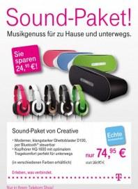 Telekom Shop Sound-Paket August 2012 KW34