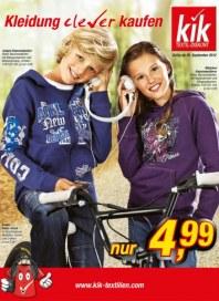 Kik Kleidung clever kaufen September 2012 KW36