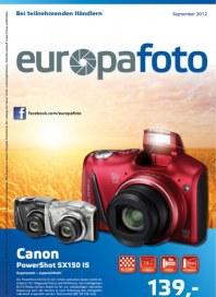Europafoto Angebote August 2012 KW35