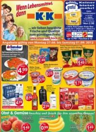 K+K - Klaas & Kock Wenn Lebensmittel, dann K+K August 2012 KW35 3