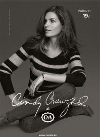 C&A Cindy Crawford at C&A August 2012 KW35