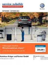Volkswagen Licht- und Sicht-Wochen September 2012 KW35