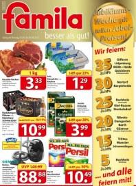 Famila Jubiläums-Woche September 2012 KW36