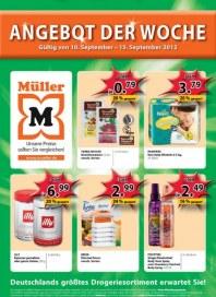 Müller Angebot der Woche September 2012 KW37