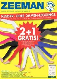 Zeeman 2 + 1 Gratis September 2012 KW37