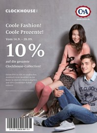 C&A Coole Fashion, coole Prozente September 2012 KW38