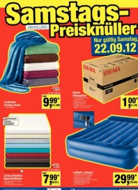 Metro Cash & Carry Samstags Preisknüller September 2012 KW38