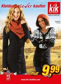 Kik Kleidung clever kaufen Oktober 2012 KW40