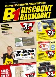 B1 Discount Baumarkt Hauptflyer September 2012 KW39 2