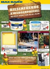 Max Bahr Riesenfreude - Zwergenpreise Oktober 2012 KW41