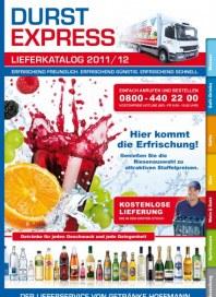 Getränke Hoffmann Durst express Oktober 2012 KW41