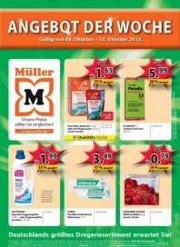 Müller Angebot der Woche Oktober 2012 KW41