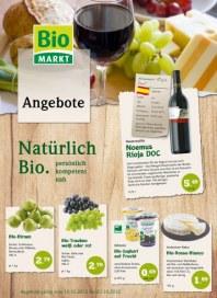 Biomarkt Biologisch gute Angebote Oktober 2012 KW41