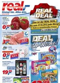 real,- Deal der Woche Oktober 2012 KW43
