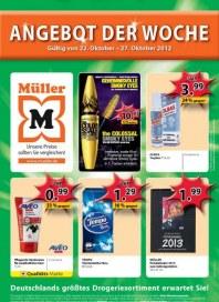 Müller Angebot der Woche Oktober 2012 KW43 1