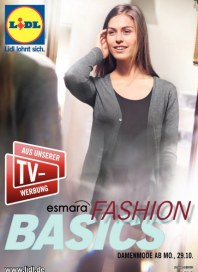 Lidl Fashion Basics Oktober 2012 KW44