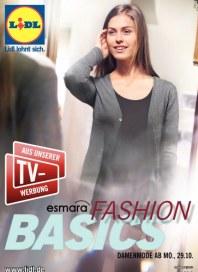 Lidl Fashion Basics Oktober 2012 KW44