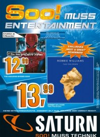 Saturn Soo! Muss Entertainment November 2012 KW45
