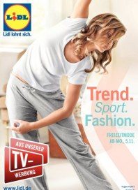 Lidl Trend. Sport. Fashion November 2012 KW45