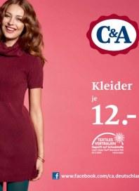 C&A Kleider November 2012 KW45