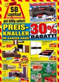 tejos SB-Lagerkauf Preis-Knaller im ganzen Haus November 2012 KW44