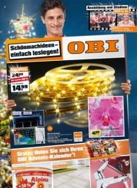 OBI Schönmachideen - Einfach loslegen November 2012 KW45