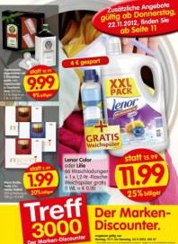 Treff 3000 Der Marken-Discounter November 2012 KW47 2