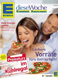 Edeka Leckere Vorräte fürs Gefrierfach November 2012 KW47