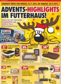 Futterhaus Megagünstig November 2012 KW48
